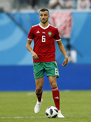 Ghanem Saiss of Morocco