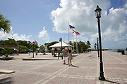 Mallory Square in Key West, Florida, USA. This place is the most popular sunset point in Key West.