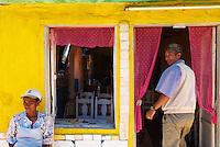 Madagascar. Restaurant sur la route National 7. // Madagascar. Restaurant on the National 7 road.