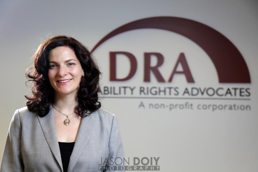 Anna Levine, Disability Rights Advocates..photo by Jason Doiy.1-25-2011.056-2011