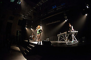 MARINA ROSENFELD,  WARRIOR QUEEN and  OKKYUNG LEE perform at the Electronica en Abril festival 2014