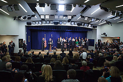 December 13, 2016 - Washington, DC, United States - VP Joe Biden made remarks, with President Barack Obama by his side, before the signing of the 21st Century Cures Act, in the South Court Auditorium of the Eisenhower Executive Office Building of the White House in Washington, DC. on December 13, 2016. The legislation eases the development and approval of experimental treatments and reforms federal policy on mental health care. (Credit Image: © Cheriss May/NurPhoto via ZUMA Press)