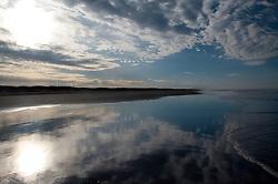 Beachscape at Loomis Lake State Park, Long Beach, Washington, US