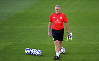 Football<br /> 26.05.2012<br /> Friendly International<br /> Norway v England at Ullevaal Stadion, Oslo<br /> <br /> Ray Clemence