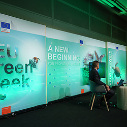 Brussels , Belgium , 20 October 2020 - Green Week 2020 - <br /> Opening Ceremony.<br /> <br />  © EU - Denis Closon