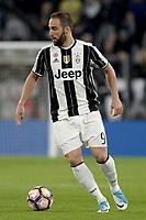 Gonzalo Higuain Juventus <br /> Torino 23-04-2017, Juventus Stadium, Football Calcio 2016/2017 Serie A, Juventus - Genoa, Foto Filippo Alfero/Insidefoto