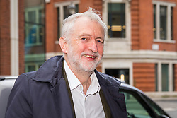 DATE CORRECTION TO 20/03/2018 © Licensed to London News Pictures. 20/03/2018. London, UK. Labour Leader JEREMY CORBYN arrives at Labour Party headquarters in London to attend a National Executive Committee meeting, where a new general secretary of the Labour Party is expected to be appointed. Photo credit: Rob Pinney/LNP
