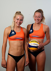 Esmee Priem, Julia Wouters during the BTN photoshoot on 3 september 2020 in Den Haag.