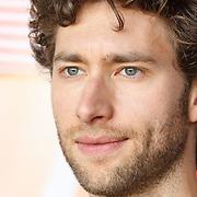 """NLD/Amsterdam/20150515 - Castpresentatie nieuwe film van Johan Nijenhuis  """"Rokjesdag"""", David Lucieer"""