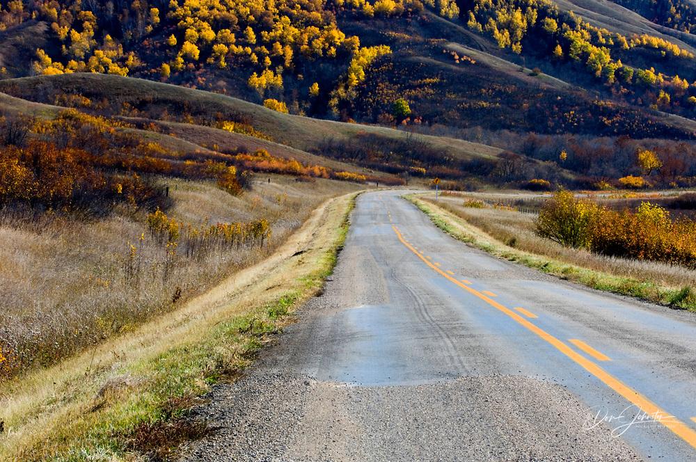 Qu'Appelle Valley- Route 247, Qu'Appelle Valley, Saskatchewan, Canada