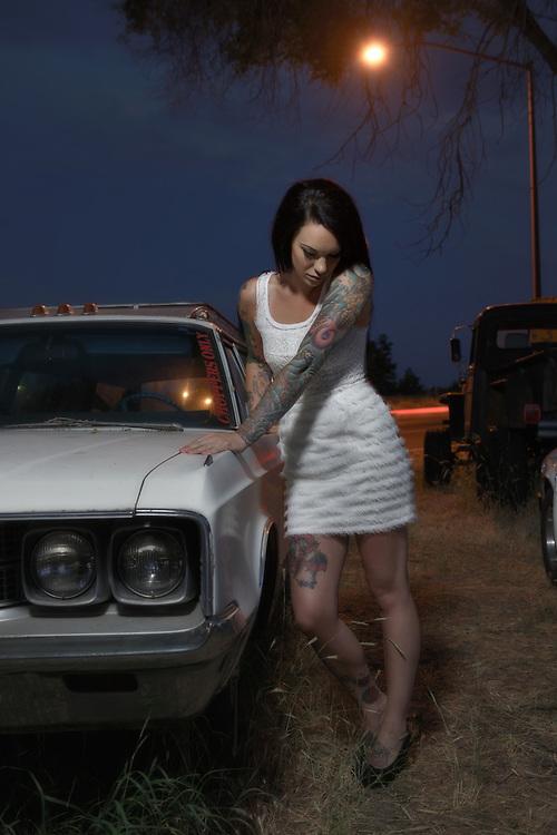 American Dreamscapes Lisa at  Boneyard/ 2012