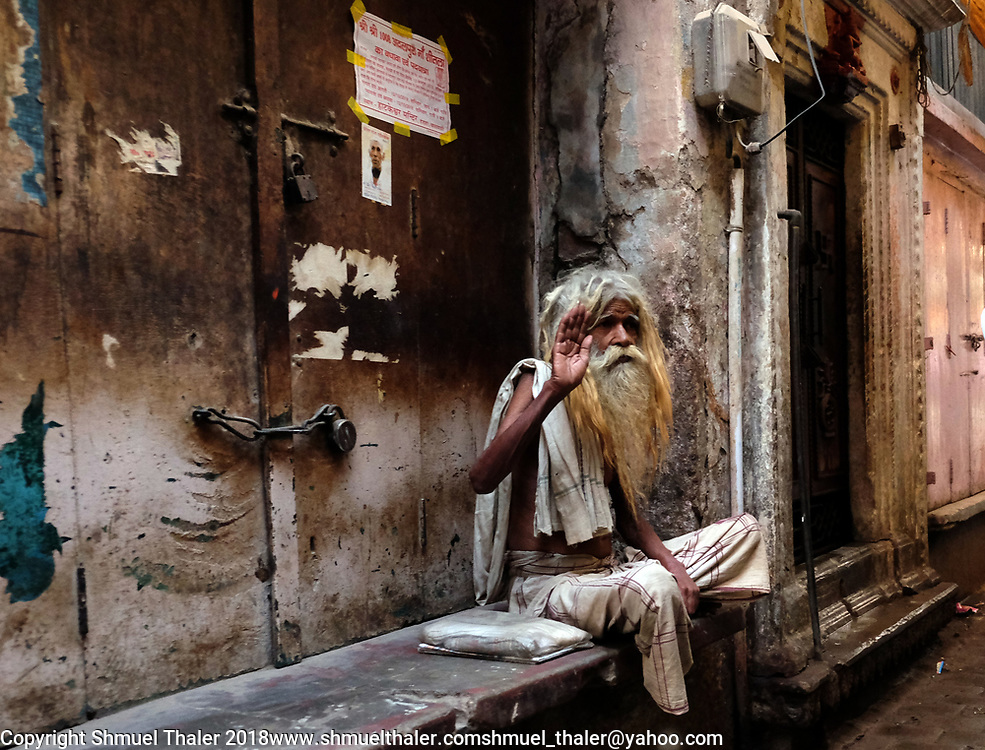 Varanasi, India.<br /> Photo by Shmuel Thaler <br /> shmuel_thaler@yahoo.com www.shmuelthaler.com