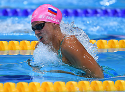 Yuilya Efimova of Russia in teh 50 m. backstroke style during the 17th FINA World Championships in Budapest, Hungary, on July 29, 2017. Photo by Giuliano Bevilacqua/ABACAPRESS.COM