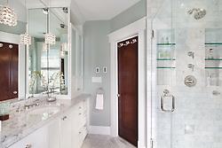 3819 Garfield Street, NW Washington, DC House architect design build Anthony Wilder Master Bathroom