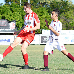 25th February 2017 - NPLQLD U18 Boys RD1: Olympic FC v Brisbane Roar