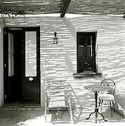 Room entrance of Hotel Signum, Salina, Aeolian Islands, Italy