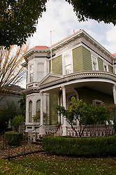 California: Napa City, exterior  during B&B Holiday Tour at McClelland Priest house.  Photo copyright Lee Foster.  Photo # canapa107064