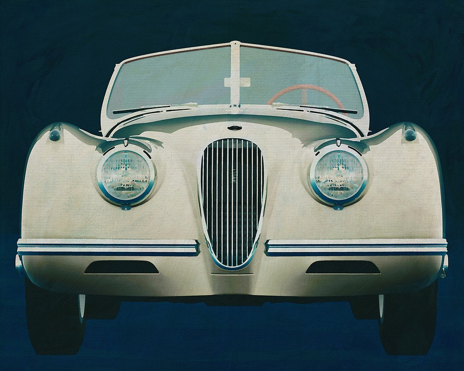 Jaguar XK - 120 1954 <br />
