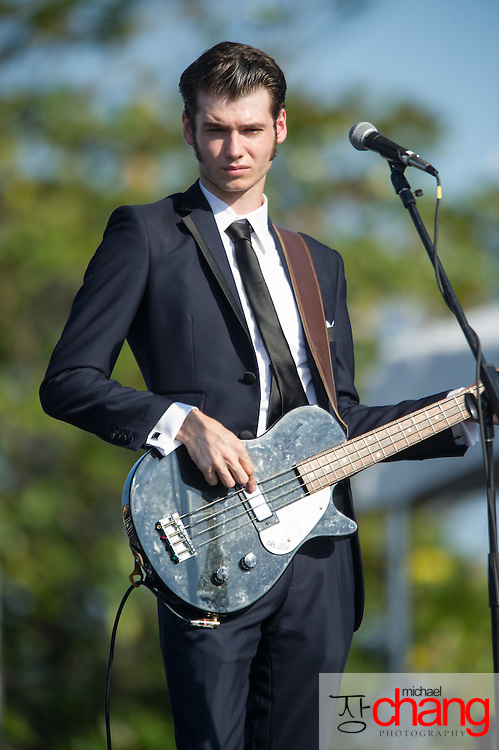 Gretch Lyles and the Modern Eldorados perform at Bay Fest on Saturday, Oct. 6, 2012, in Mobile, Ala. (Bay Fest/ Michael Chang)