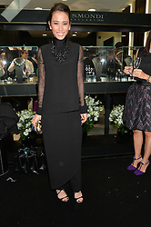 ROSEMARY PORT at the opening of the new Gismondi Jewellery boutique, 14 Albermarle Street, London on 9th October 2014.