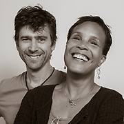 Tracy Heather Strain and husband, Randall MacLowry.