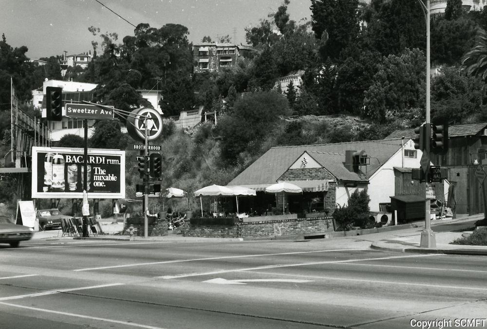 1973 Temple of God Restaurant on Sunset Blvd.