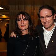 Harpengala 2004, Eric van Tijn en vrouw