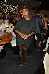 LAURA MVULA at the STK Ibiza Pe-Launch Party held at STK London, 336-337 Strand, London on 21st June 2016.
