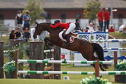 Du Couedic Laetitia, SUI, Cheyenne 111 Z<br /> Juniors European Championships Jumping <br /> Samorin 2017© Hippo Foto - Dirk Caremans<br /> 11/08/2017