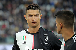 May 19, 2019 - Turin, Turin, Italy - Cristiano Ronaldo #7 of Juventus FC looks on during the serie A match between Juventus FC and Atalanta BC at Allianz Stadium on May 19, 2019 in Turin, Italy. (Credit Image: © Giuseppe Cottini/NurPhoto via ZUMA Press)
