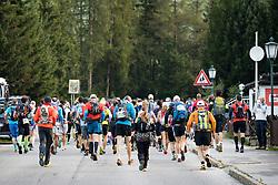 23.07.2016, Kals, AUT, Grossglockner Ultra Trail 2016, im Bild Übersicht auf den Start des Glockner Trail // during the 2016 Grossglockner Ultra Trail. Kals, Austria on 2016/07/23. EXPA Pictures © 2015, PhotoCredit: EXPA/ Johann Groder
