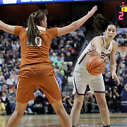 UNCASVILLE, CONNECTICUT- DECEMBER 4:  Natalie Butler #51 of the Connecticut Huskies in action during the UConn Huskies Vs Texas Longhorns, NCAA Women's Basketball game in the Jimmy V Classic on December 4th, 2016 at the Mohegan Sun Arena, Uncasville, Connecticut. (Photo by Tim Clayton/Corbis via Getty Images)