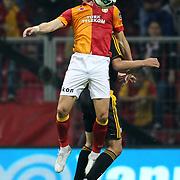 Galatasaray's Albert Riera Ortega during their Turkish Super League soccer match Galatasaray between Kayserispor at the TT Arena at Seyrantepe in Istanbul Turkey on Saturday, 27 October 2012. Photo by TURKPIX