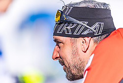 18.02.2020, Suedtirol Arena, Antholz, ITA, IBU Weltmeisterschaften Biathlon, Damen, Einzel, im Bild Ricco Gross Cheftrainer Biathlon Trainingsgruppe I (AUT) // Ricco Groß head coach biathlon training group I of Austria during the women's Individual of IBU Biathlon World Championships 2020 at the Suedtirol Arena in Antholz, Italy on 2020/02/18. EXPA Pictures © 2020, PhotoCredit: EXPA/ Stefan Adelsberger