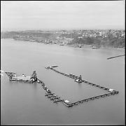 "ackroyd-P272-16 ""Rivergate Aerials. December 22, 1966""  (dredge by Swan Island)"