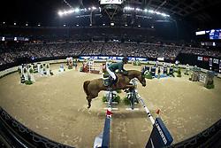 Guerdat Steve, (SUI), Albfueren S Paille<br /> Longines FEI World Cup™ Jumping Final II<br /> Las Vegas 2015<br />  © Hippo Foto - Dirk Caremans<br /> 18/04/15