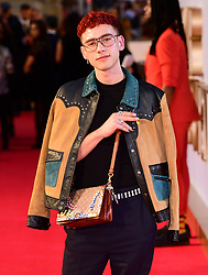Olly Alexander attending the UK Premiere of A Star is Born held at the Vue West End, Leicester Square, London.