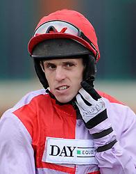 Jockey Kevin Jones  - Photo mandatory by-line: Harry Trump/JMP - Mobile: 07966 386802 - 09/03/15 - SPORT - Equestrian - Horse Racing - Taunton Racing - Taunton Racecourse, Somerset, England.