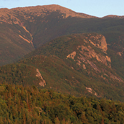 Franconia Notch State Park.  View from Bald Mountain of Mount Lafayette and Eagle Cliff. Franconia Ridge.Franconia, NH