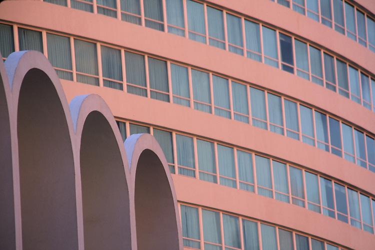 Fontainebleau Hotel Miami Beach designed by Morris lapidus in 1954