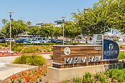 Marina Park Lighthouse Bayview Cafe Signage