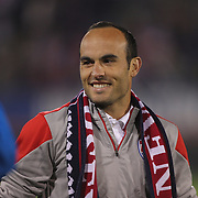Landon Donovan, USA, in action during his farewell match during the USA Vs Ecuador International match at Rentschler Field, Hartford, Connecticut. USA. 10th October 2014. Photo Tim Clayton