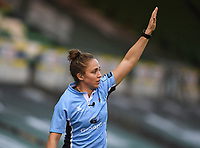 Rugby Union - 2019 / 2020 Gallagher Premiership - Northampton Saints v Sale Sharks - Franklin Gardens<br /> <br /> Assistant Referee Sara Cox.<br /> <br /> COLORSPORT/ASHLEY WESTERN