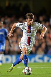 18.09.2013, Stamford Bridge, London, ENG, UEFA Champions League, FC Chelsea vs FC Basel, Gruppe E, im Bild Basel's Valentin Stocker  during UEFA Champions League group E match between FC Chelsea and FC Basel at the Stamford Bridge, London, United Kingdom on 2013/09/18. EXPA Pictures © 2013, PhotoCredit: EXPA/ Mitchell Gunn <br /> <br /> ***** ATTENTION - OUT OF GBR *****