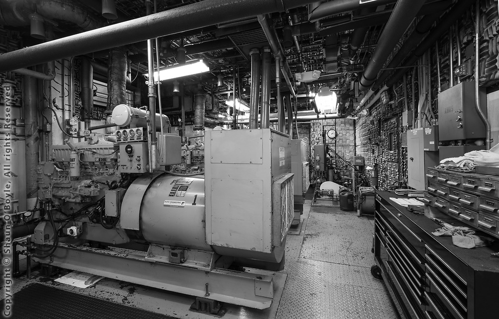 The 2 generators which provide power to the station.