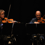 Four Chinese Paintings : Gobi Desert at Sunset by Kronos Quartet & Wu Man at the Jubilee - Master Musicians of the Aga Khan Music Initiative at the Royal Albert Hall, London, UK on June 20 2018.