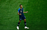 Kylian MBAPPE <br /> Celebration Victory France <br /> Moscow 15-07-2018 Football FIFA World Cup Russia  2018 Final / Finale <br /> France - Croatia / Francia - Croazia <br /> Foto Matteo Ciambelli/Insidefoto