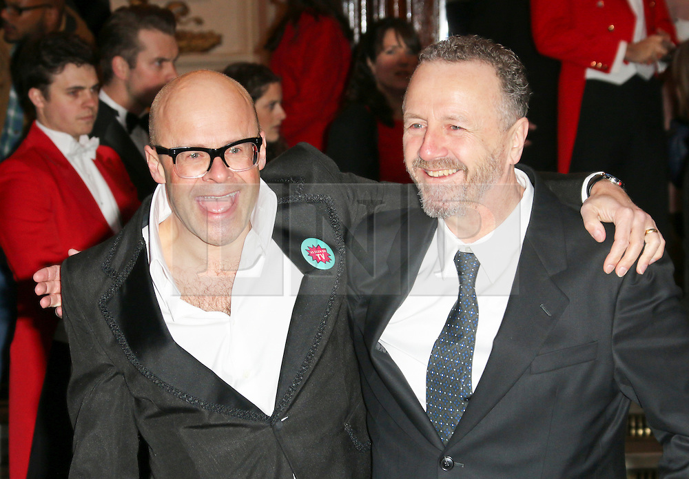 © Licensed to London News Pictures. 26/03/2014, UK. Harry Hill; Steve Brown, I Can't Sing! The X Factor Musical - press night, London Palladium, London UK, 26 March 2014. Photo credit : Richard Goldschmidt/Piqtured/LNP