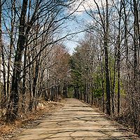 Old County Road, a dirt road in Damariscotta, just off of Maine State Road 129.  State Road 129 also known as Bristol Road is the only route to South Bristol and Christmas Cove.