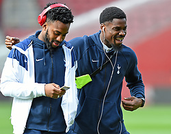 March 9, 2019 - Southampton, England, United Kingdom - Tottenham defender Danny Rose and Serge Aurier inspect the pitch before the Premier League match between Southampton and Tottenham Hotspur at St Mary's Stadium, Southampton on Saturday 9th March 2019. (Credit Image: © Mi News/NurPhoto via ZUMA Press)